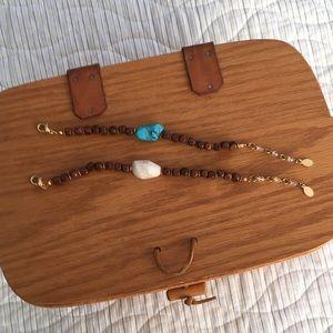 Two Rachel Reinhart bracelets